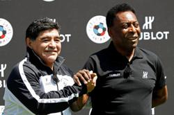 Maradona or Pele? Debate will continue to rage over who was greater