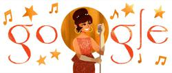 Doodle honours Saloma, Malaysia's first National Songbird