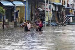 Cyclone Nivar makes landfall in India pushing tens of thousands into shelters