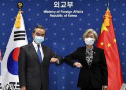 S.Korea, China top diplomats vow to work on N.Korea, Covid-19