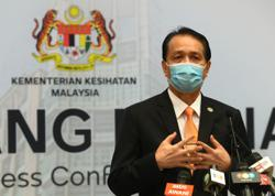 Health DG: Bakti cluster in Negri recorded highest number of new Covid-19 cases Thursday (Nov 26)