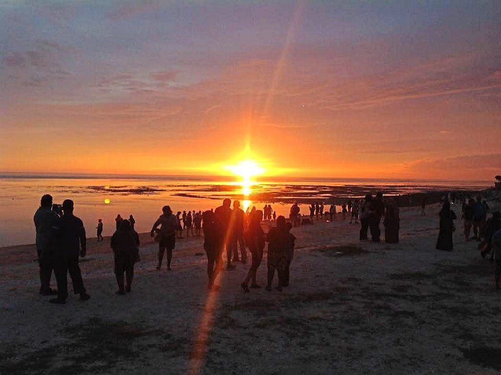 Sunset at Pantai Redang.