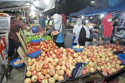 Relief for night market traders