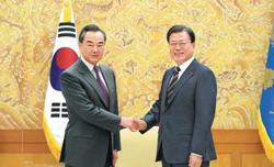 Beijing, Seoul agree to boost diplomatic, security dialogues