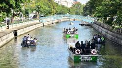 Bangkok launches eco-friendly electric boats on canal