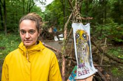 Female German ship captain fights for the forests