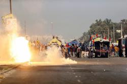 Clashes erupt as farmers blocked from entering Delhi to protest over new law