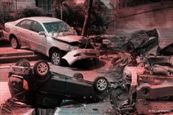 Man dies, lorry driver hurt after vehicle plunges from flyover following accident near Nilai