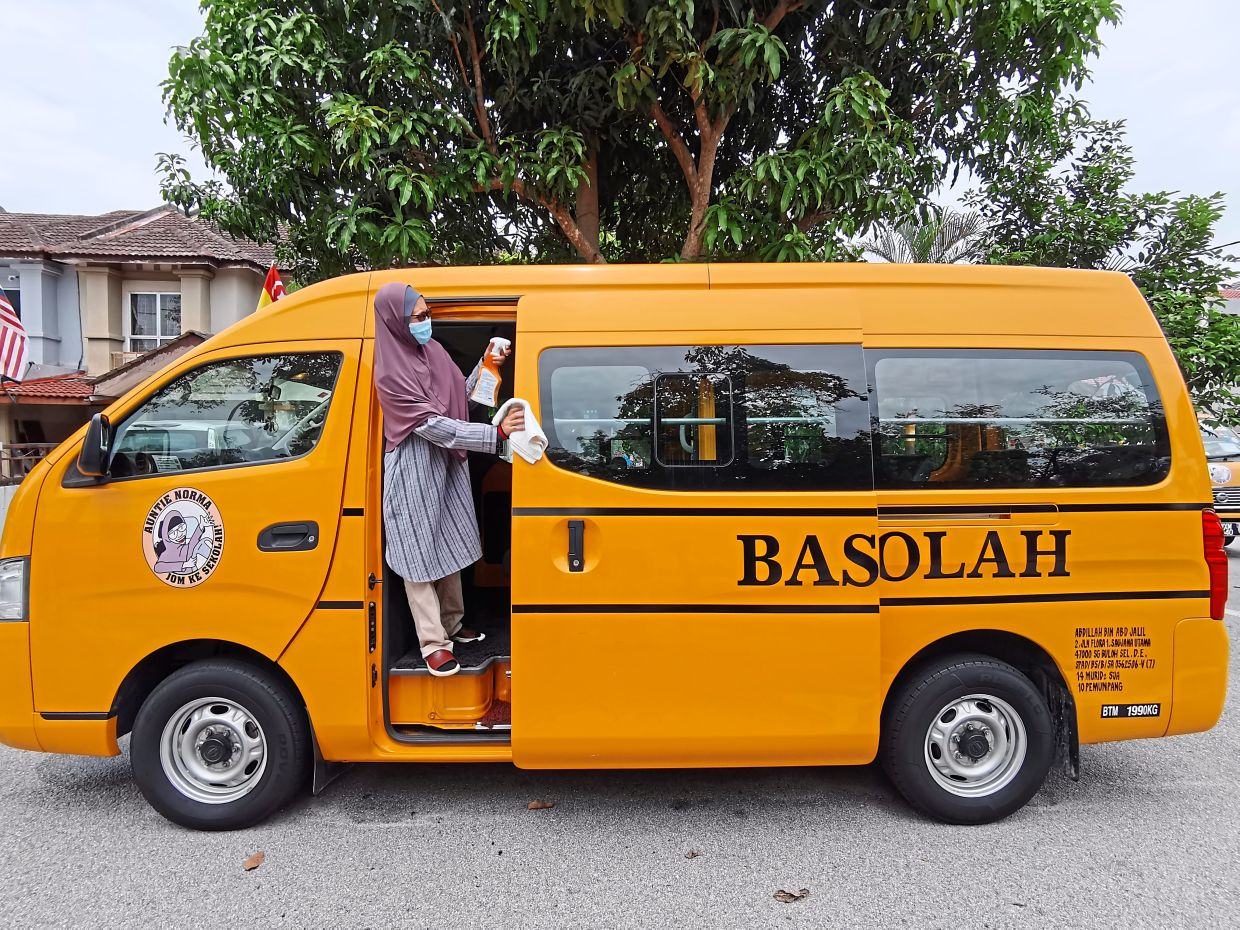 In Johor Budget 2021, a one-off payment of RM500 will be given to 2,071 registered schoolbus operators. — Filepic