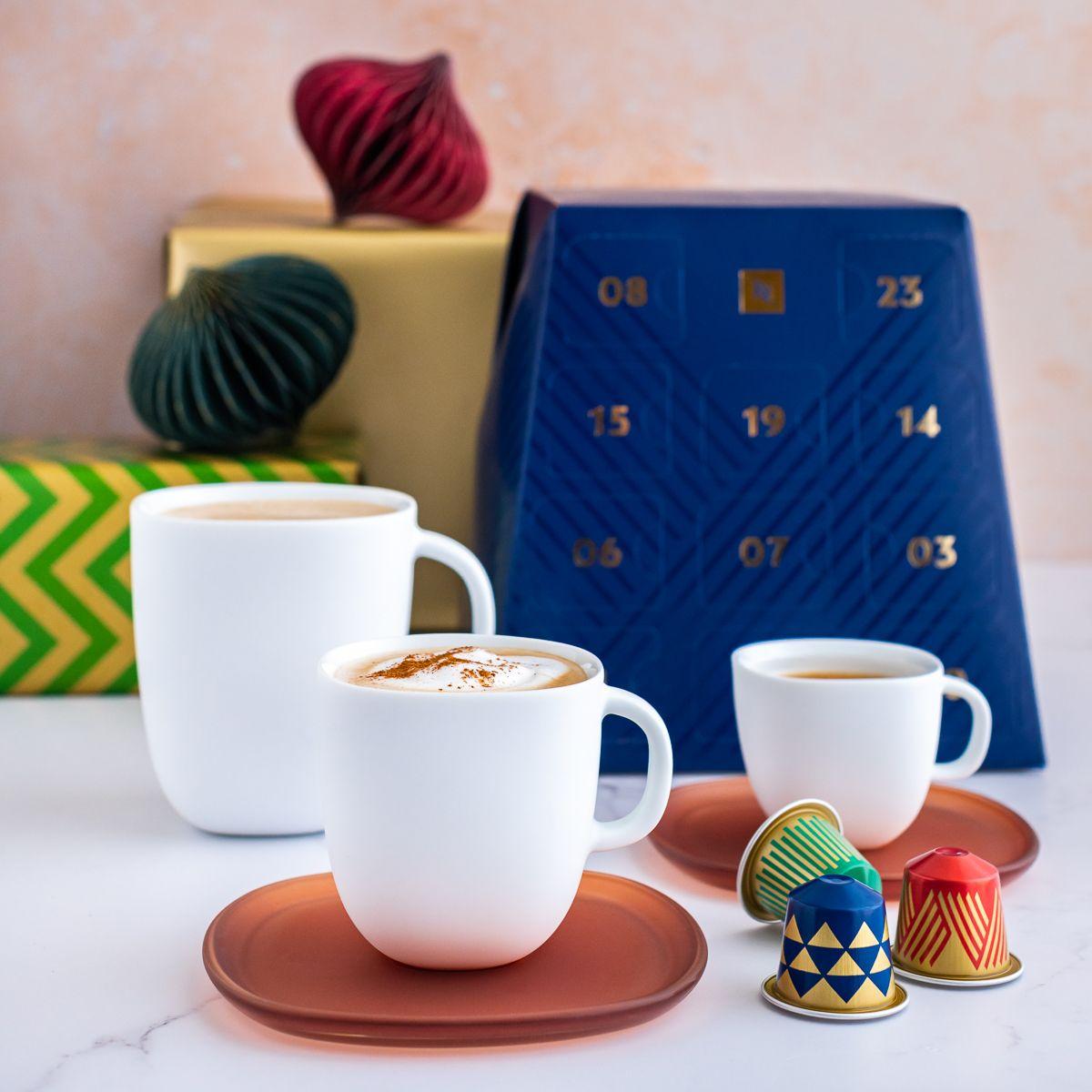 Beautifully designed Nespresso Festive Advent Calendar, makes for a great Christmas gift.