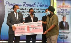 RM116,000 cash aid for 29 welfare homes