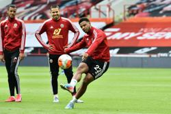 Sheffield United's Mousset in line for injury return against West Brom