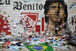 Maradona's death casts long shadow around Argentina's Boca Juniors stadium