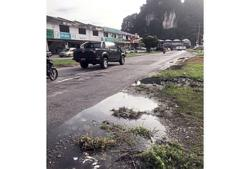 Residents in Ipoh want pothole-riddled roads fixed
