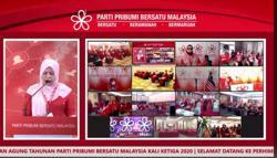 Bersatu to hold third AGM virtually