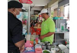 Five food handlers in Sibu fined for recovery MCO violations