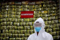 Record catch: Myanmar military seizes US$634mil worth of narcotic drugs; Covid-19 cases surges above 86,000