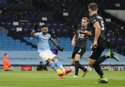 Mahrez hat-trick as Man City thrash Burnley 5-0 yet again