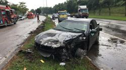 Collision near Pasir Gudang leaves two drivers injured