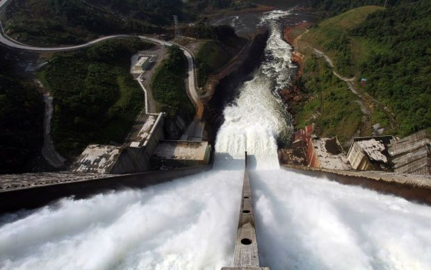 Murum dam, which started building in 2008, is now fully operational. The second largest dam in Sarawak is roughly 50 stories height and has one of the steepest spillway in the world. The 944MW power station was the first dam to be constructed as part of the Sarawak Corridor of Renewable Energy.  - The Star filepic