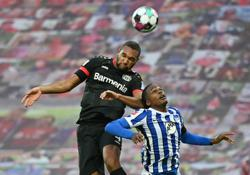 Leverkusen miss out on second spot after draw against Hertha