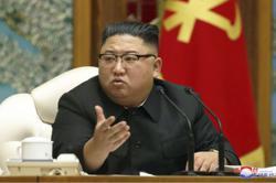 N.Korea's Kim stresses economic policies at a politburo meeting