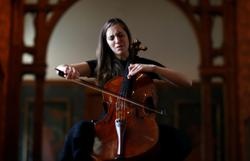 French-Belgian cellist turns locked-down museums into backdrop for 'healing art'