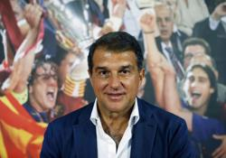 Barca presidential candidate Laporta vows to unite the club