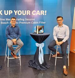 Ensuring clean, healthy air in car cabins