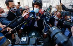 Doctor of late Argentine football star Maradona seeks out prosecutors