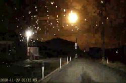 Meteor sighting lights up Japan social media