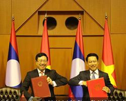 Laos, Vietnam agree to extend cooperation in foreign affairs