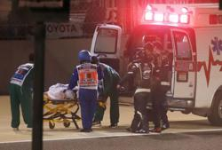 Grosjean to spend another night in hospital, keen for Abu Dhabi return