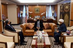Muhyiddin meets PAS, Umno presidents to strengthen party ties