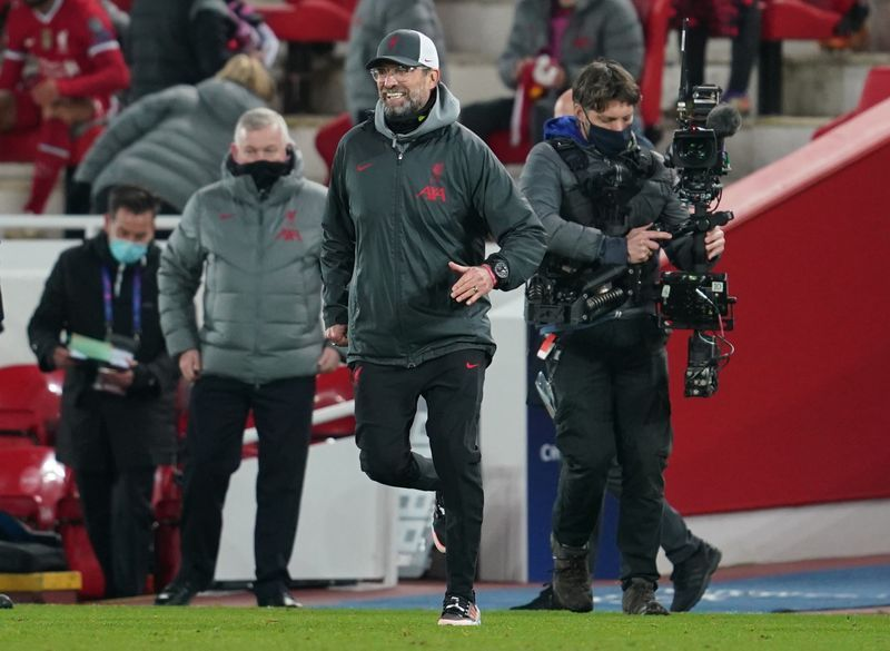 Klopp rates Ajax win up with his best at Liverpool