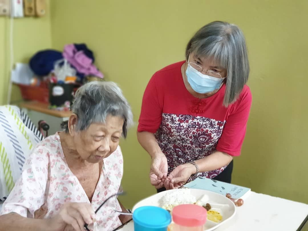 Fu hopes her documentary can help highlight the issues faced by older people, many of whom are abandoned and alone.