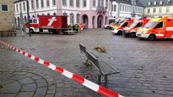 At least two killed as car ploughs into pedestrian zone in German town