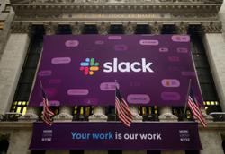 Salesforce to buy workplace app Slack in $27.7 bln deal