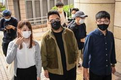 Three Hong Kong dissidents jailed for protests