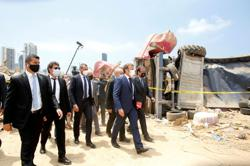 No global financial support for Lebanon until government in place - French presidency