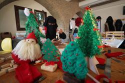 A gloomy Christmas in store for Gaza handicraft workshop