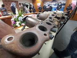 Gold Theft Auto: Thieves steal car parts to melt into white gold