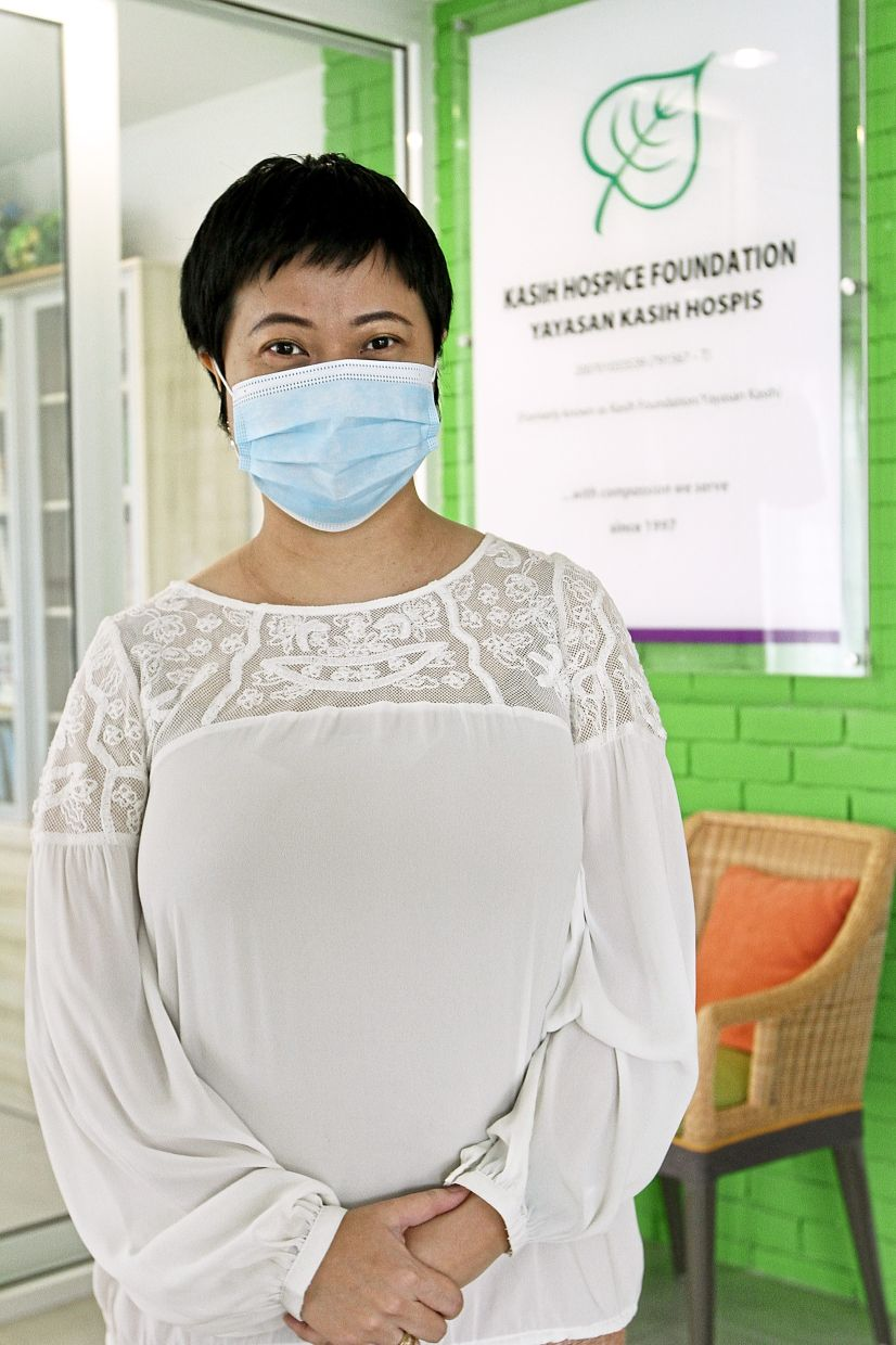 'Most of the hospices are badly affected by the pandemic,' says Ooi. Photo: The Star/Yap Chee Hong