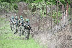 Border patrols intensified