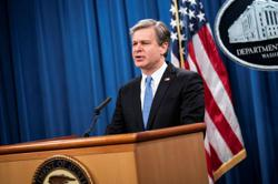 Biden plans to keep Wray as FBI director - New York Times