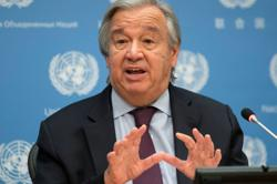 U.N. chief says U.S. leadership key to fight climate emergency