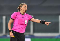 Frappart becomes first woman to referee Champions League game