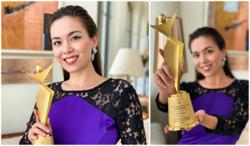 Actress Siti Saleha receives Malaysia Model Star Award 2020 from South Korea