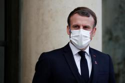 France's Macron postpones interview due to former president's death