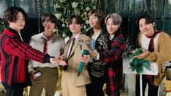 BTS spreads Christmas cheer with its version of Santa Claus Is Comin To Town